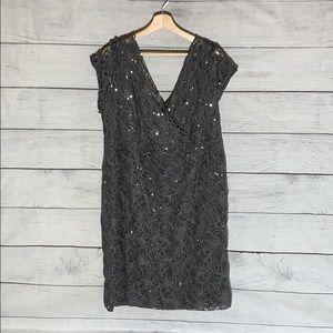 Scarlett gray sequin dress- size 22w
